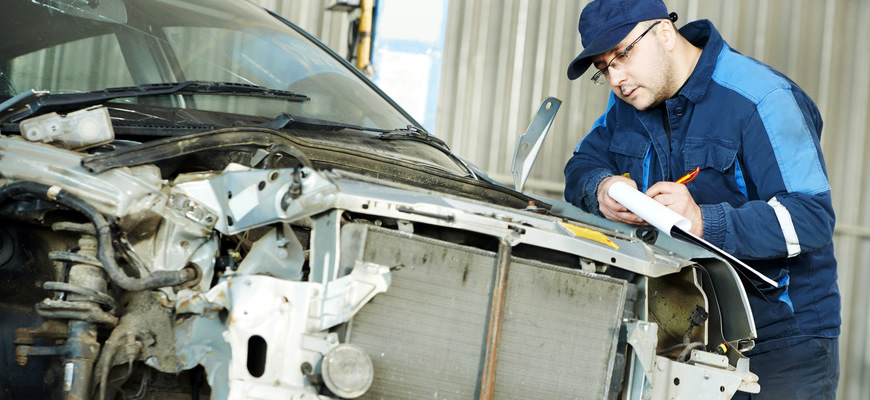our collision repair process